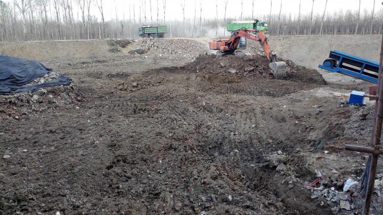 北京市顺义区太平辛庄非正规垃圾填埋场施工治理项目