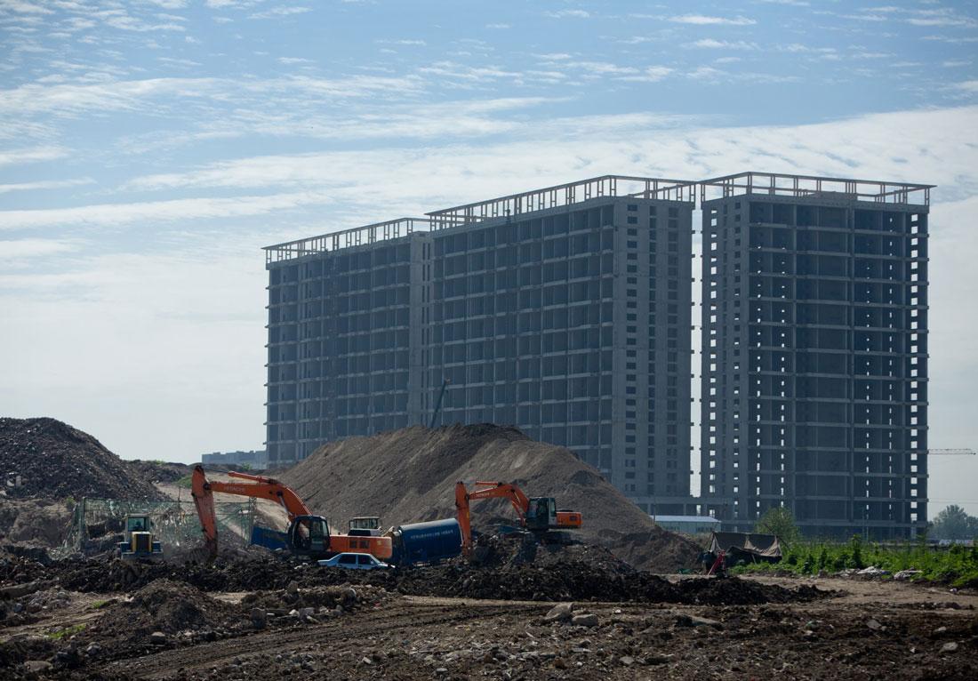 马驹桥镇小白村垃圾填埋场治理施工项目-北京市通州区