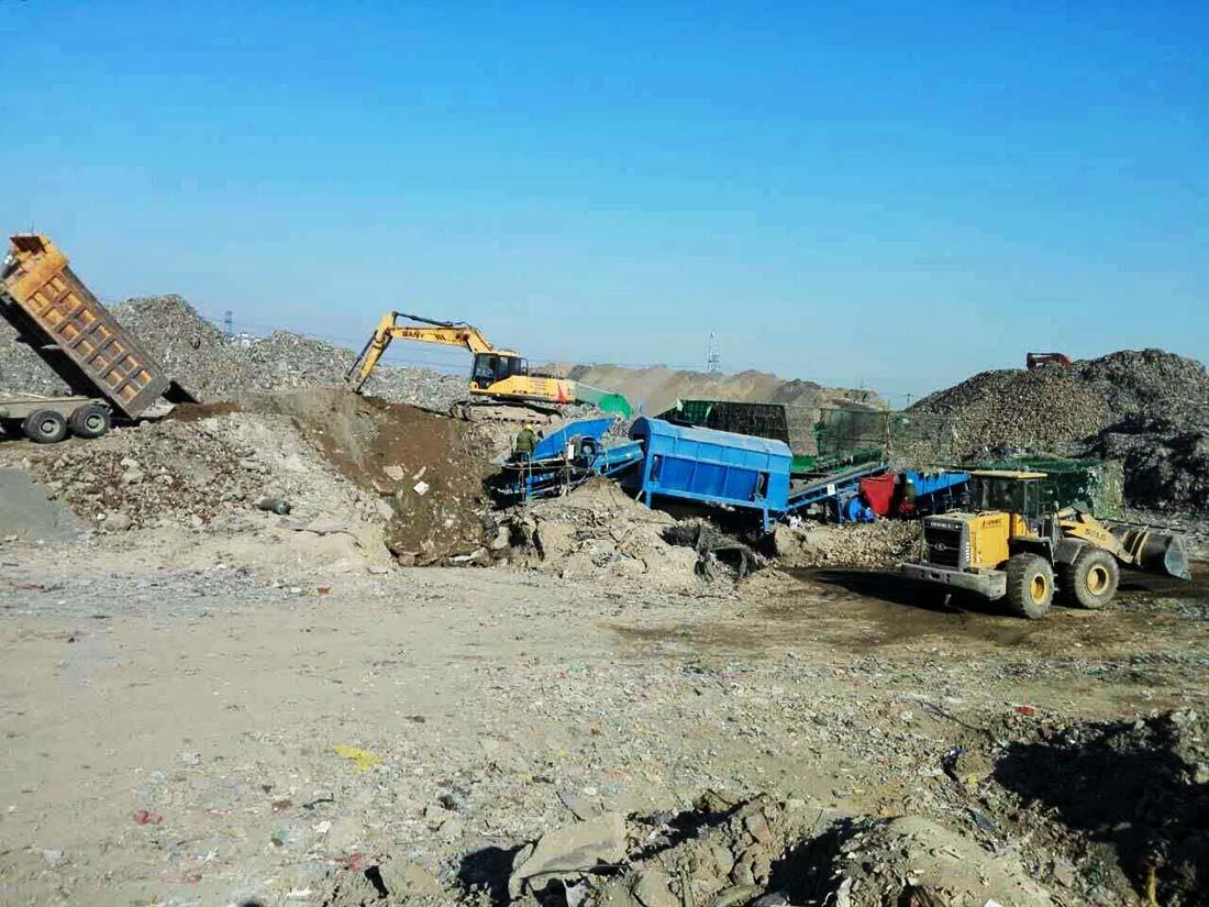 马家湾非正规垃圾填埋场治理施工项目 - 北京朝阳区南磨房乡