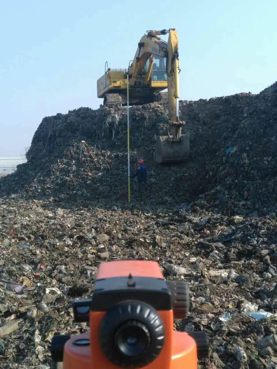 大连市普兰店区非正规垃圾填埋场施工治理项目