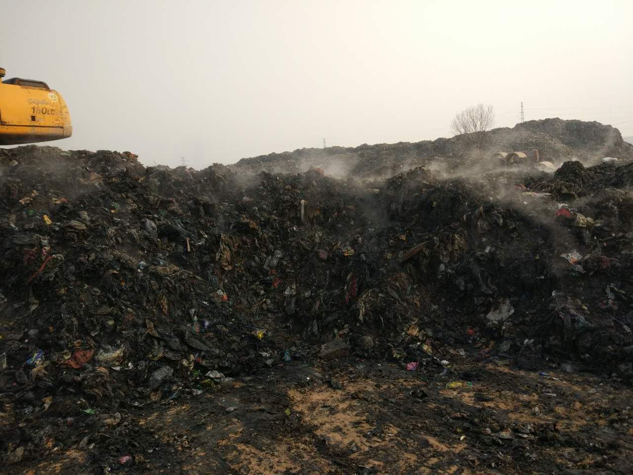 山东省东营市利津县非正规垃圾填埋场施工治理项目