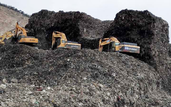 青岛市黄岛生活垃圾处理施工治理项目